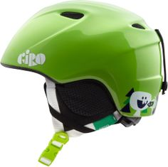The boys' Giro Slingshot snow helmet is top-end protection in a light, durable design. #REIGifts