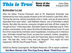 "The This is True Story of the Week. Odd how something ""fake"" produces so many illnesses, deaths, and guilt. This is True is about THINKING: it's ""Thought-Provoking Entertainment"" -- basic subscriptions free since 1994. Weird True Stories, Weird But True, So True, Steve Wozniak, Schindler's List, Kinds Of Story, Information Age, Morning News, Weird News"