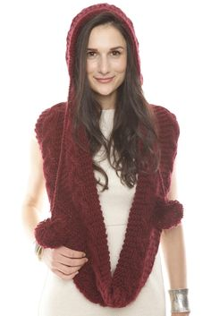 1000 Images About Knit Hooded Scarves On Pinterest Hooded Scarf Hoods And Cowls