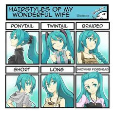 Dispite the fact i love anime and manga, this is actually a good hair guide.