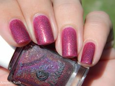 Sunset on Yule swatched by @seren