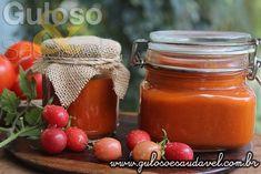 Este Ketchup Caseiro Diet é delicioso, saudável, natural, econômico e sem conservantes… #Receita aqui: http://www.gulosoesaudavel.com.br/2016/09/06/ketchup-caseiro-diet/