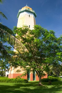 Coral Gables water tower.