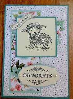 easter lamb stampin up card ideas (Pin#1: Babies... Pin+: Easter: Stampin' Up).