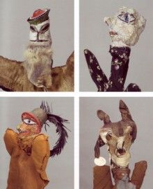 PAUL KLEE: HAND PUPPETS-