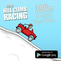 Hill Climb Racing, Android Apps, Arctic, Google Play