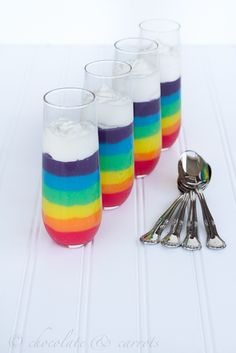 Awesome rainbow ideas for St. Patrick s Day! Rainbow Treats 6bbe8d02688a
