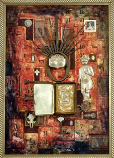 SOS Save our souls, assemblage BB McIntyre in private collection