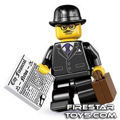 LEGO Minifigures - Businessman (firestartoys, 2013)