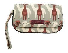 Bungalow360 Vegan Wristlet New Alpaca Design – Alternative Outfitters Vegan Store