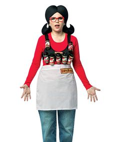 Another great find on #zulily! Bob's Burgers Linda Spice Rack Costume Outfit #zulilyfinds