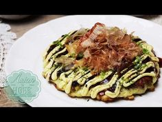 Easy Gluten Free Okonomiyaki (and the Sauce From Scratch) 簡単!お好み焼き風 - OCHIKERON - CREATE EAT HAPPY - YouTube