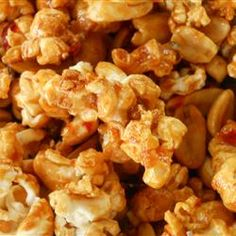 Pad Thai Popcorn Allrecipes.com  We are going to try this one!