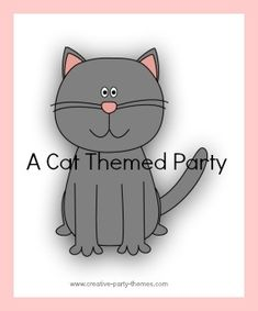 Cute cat party ideas, including suggestions for invitations, decorations, activities and more.
