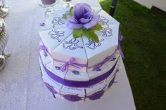 Bridal Shower Paper Cake for my new Daughter-in-law.