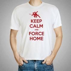 Keep Calm and Force Home  Ultimate Frisbee Men's by KennieBlossoms