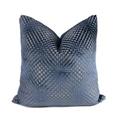 Aloriam Pillows offers a large range of blue throw pillow covers in designer fabrics for your home. Made in USA. Navy Blue Throw Pillows, Blue Pillow Covers, Large Throw Pillows, Owl Pillows, Burlap Pillows, Cushion Covers, Sophisticated Bedroom, Patterned Chair, Home Decor Fabric