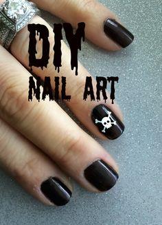 DIY Nail Art made with Cricut Explore -- Little Retreats. #DesignSpaceStar Round 4