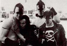 Vampira with The Misfits