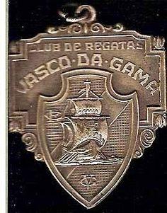 medalha - clube de regatas vasco da gama - anos 50