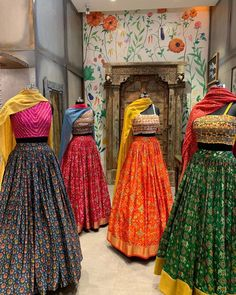 Lehenga Saree Design, Lehenga Designs, Saree Blouse Designs, Lehenga Choli, Anarkali, Sarees, Dress Indian Style, Indian Dresses, Indian Outfits