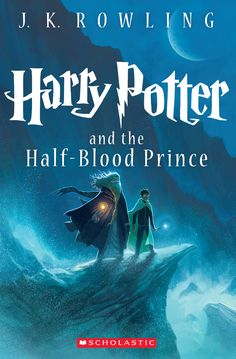 Presenting the NEW cover for Harry Potter and the Half-Blood Prince, illustrated by Kazu Kibuishi. This is the 6th book in J.K. Rowling's best-selling Harry Potter series.