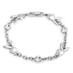 Official Playboy Bracelet Iconic Bunny Logo Link Bracelet with Crystals Genuine Authentic Licensed Playboy Jewelry CPBB1195 Playboy. $19.95. Size/Measurement: 7-1/4 inches long X 3/8 inch wide