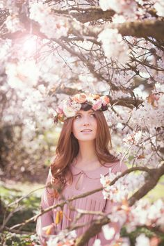 Get inspired by this seasonal spring wedding photoshoot with a spring blossom flower crown and bouquets of tulips, bluebells, perfect for a rustic wedding. Rustic Wedding Groom, Rustic Wedding Backdrops, Rustic Wedding Dresses, Spring Blossom, Blossom Flower, Wedding Photoshoot, Wedding Shoot, Wedding Ideas, Diy Wedding Video