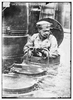 On a German Torpedo Boat  (LOC) by The Library of Congress, via Flickr