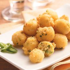 Peppery Hush Puppies Recipe from Taste of Home -- shared by Carolyn Griffin, Macon, Georgia