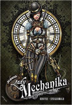 Lady Mechanika by Jamie Tyndall