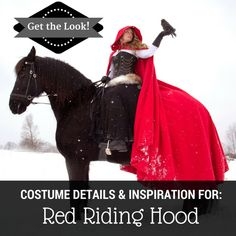 """Red Riding Hood"" Fantasy Photo Shoot - Costume Ideas & Resources"
