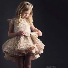 35 Unbelievably Cute Flower Girl Dresses for a Spring Wedding - Modern Wedding