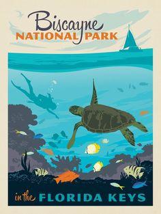 Anderson Design Group Poster Print Wall Art Print entitled Great Barrier Reef, Australia, None Poster Art, Kunst Poster, Vintage Films, Vintage Ads, Vintage Style, Vogue Vintage, Decor Vintage, Art Vintage, Vintage Crafts