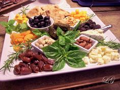 The Kitchen at Living Graciously: A Platter from the Mediterranean