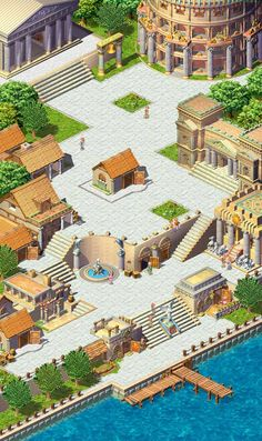 I chose this illustration because it shows a Greek polis, which began popping up around Greece during the Archaic period.