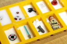 Preparing for a LEGO science scavenger hunt. So much for for the kids!