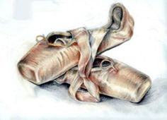 Still Life - Pointe Shoes by ~ nomoreppl on deviantART Ballet Shoes Drawing, Ballet Painting, Acrylic Painting Canvas, Artist Painting, Ballerina Shoes, Still Life Images, Still Life Art, Dance Pictures, Art Pictures