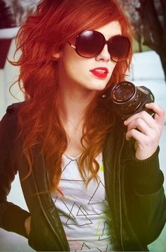 I'm going to try red lips with copper red hair... suggest a perfect shade and brand please!