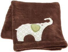 Carter's Green Elephant Boa Blanket, Green/Choc, « Clothing Impulse
