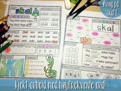 Mengdetrening med høyfrekvente ord! Laksa, Projects To Try, Bullet Journal, Tips, Grammar, Advice