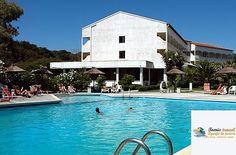 Hotel Livadi Nafsika, #Dassia, #Corfu, #Grecia Corfu, Creta, Mansions, House Styles, Home, Manor Houses, Villas, Ad Home, Mansion