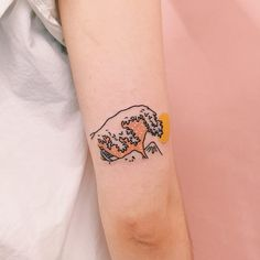 Outstanding small tattoos for girls are offered on our site. Check it out and you wont be sorry you did. Small Japanese Tattoo, Japanese Tattoo Symbols, Japanese Tattoos, Cute Tattoos, Beautiful Tattoos, Body Art Tattoos, Tattoo Ink, Arm Tattoo, Sleeve Tattoos