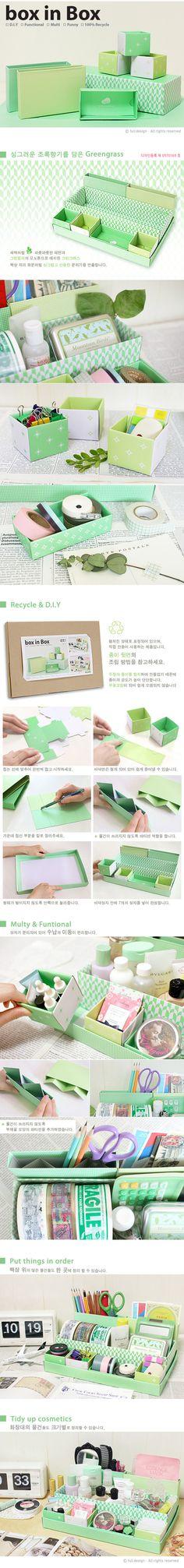 Multi Use Ordering Box Full Design Box in Box