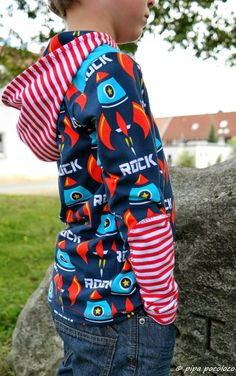 Nähbeispiel lillestoff » Rocket Rock «