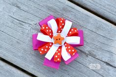 How to Make Hair Bows with a Ribbon Mix - The Ribbon Retreat Blog
