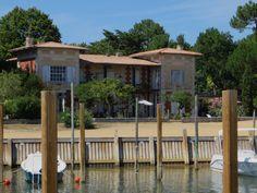 La maison sur le port, Grand-Piquey, Lège-Cap Ferret, Gironde, Aquitaine, France.