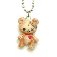Woollyton!! such cute polymer clay charm jewelry. makes me want to make polymer jewelry!! :D