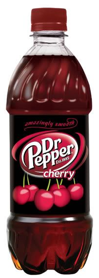 Dr Pepper Cherry - This one is my VERY FAVORITE!!! With chipped ice, of course!