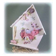 Birdhouse Decor Bird House Decor Blue Bird Decor Birdhouse Wall Decor 25